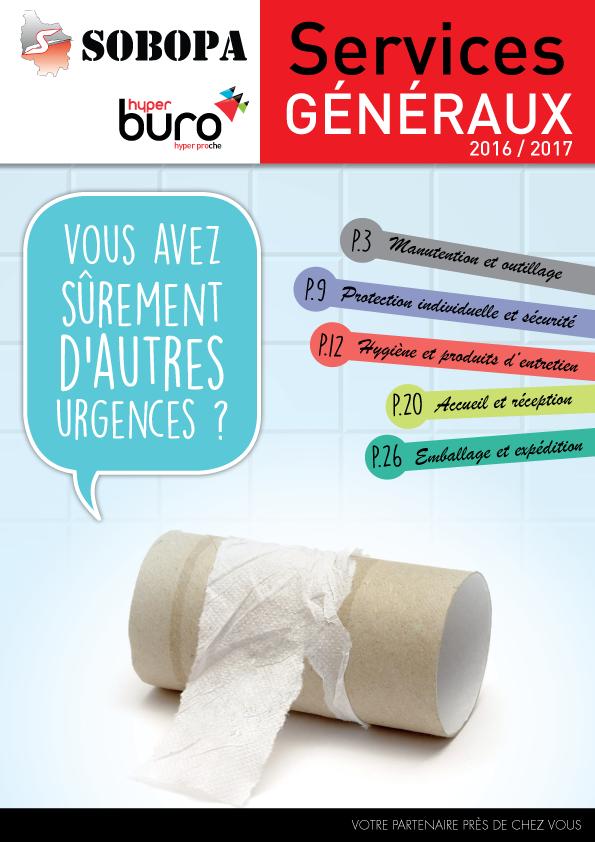 Catalogue Services Généraux 2016/2017