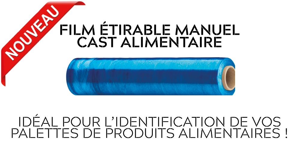 FILM ETIRABLE CAST ALIMENTAIRE