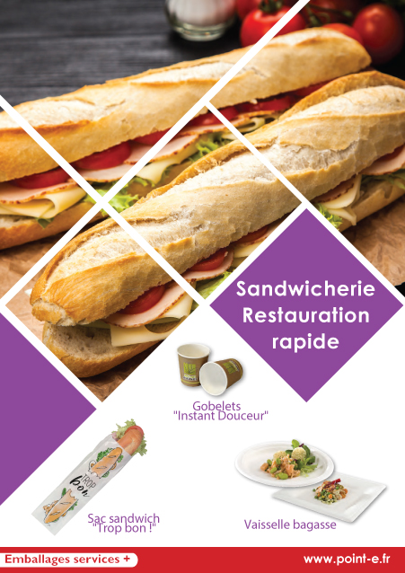 Catalogue Point-E 2018 Boulangerie - Patisserie - Sandwicherie