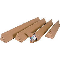 Tube Carton Triangulaire